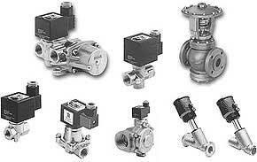 клапаны для горячей воды и пара