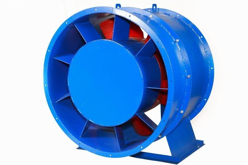Вентилятор осевой подпора воздуха ВО 25-188 с типоразмером № 11,2, 7,5 кВт