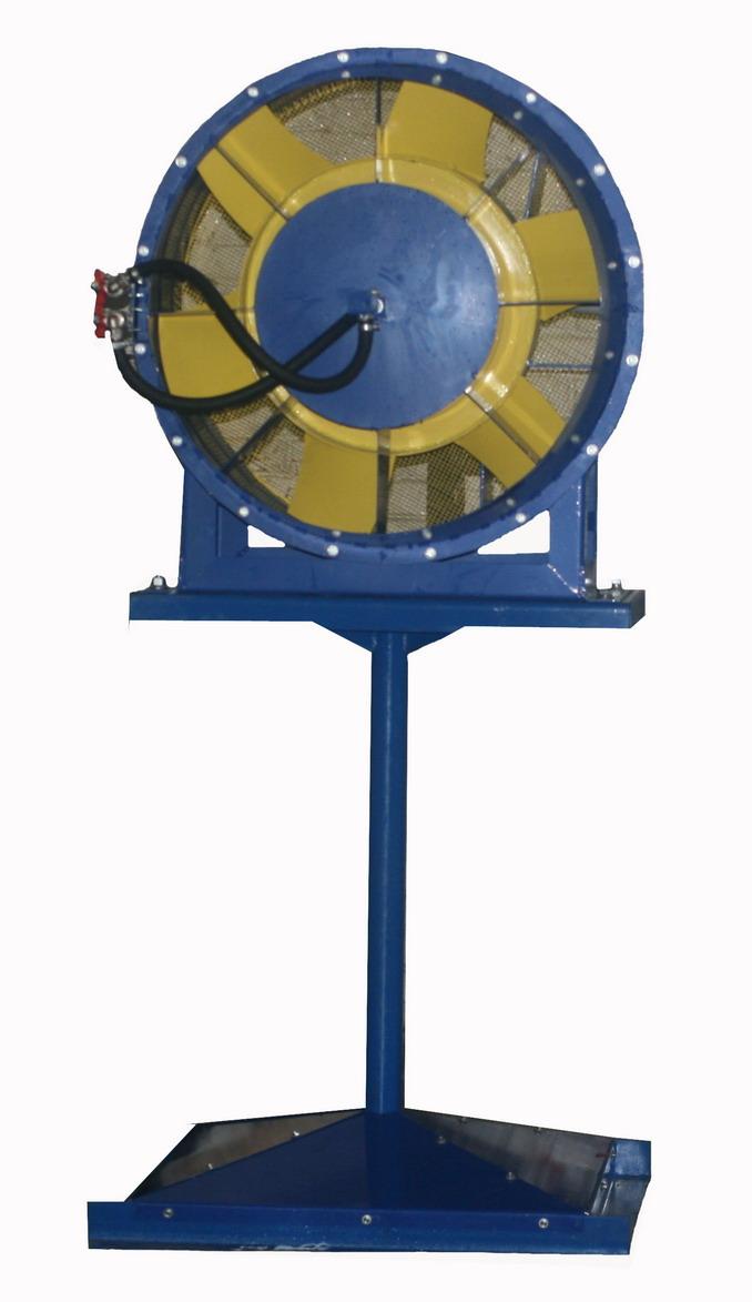 Аэратор ПАМ-32. Потребляемая мощность 5,5 кВт