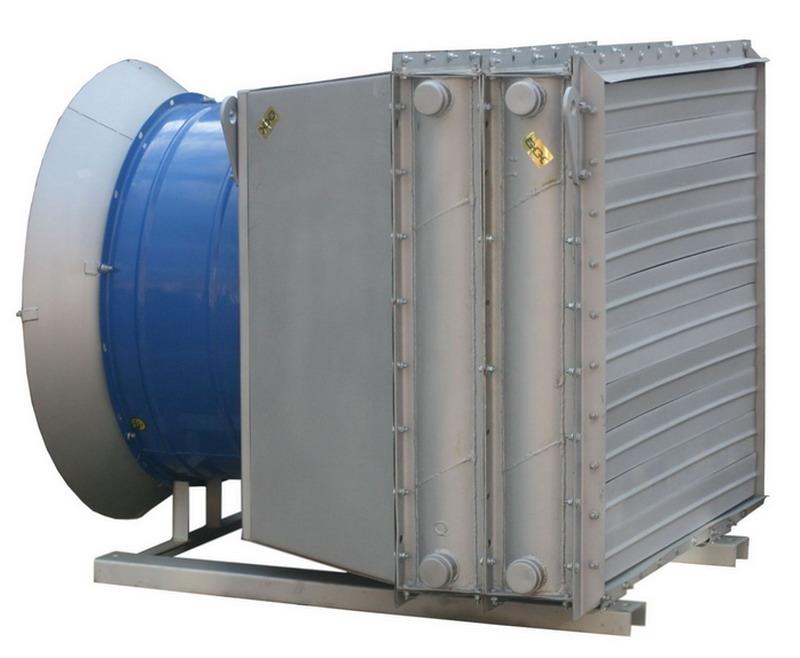Отопительный агрегат АО2-8,5-100