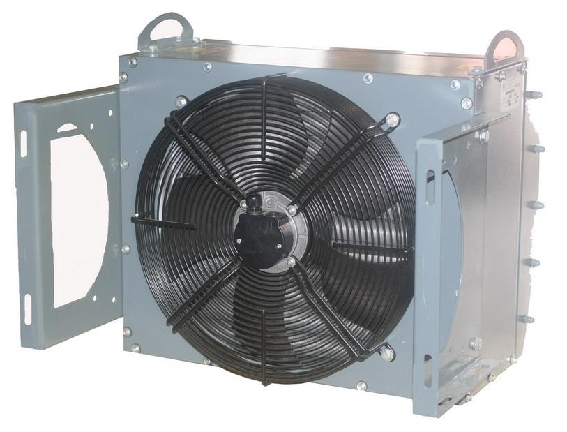 Агрегат воздушно-отопительный АО2М-4 с тремя нагревательными рядами