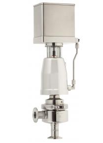 Асептический угловой клапан со встроенным позиционером серия 6021
