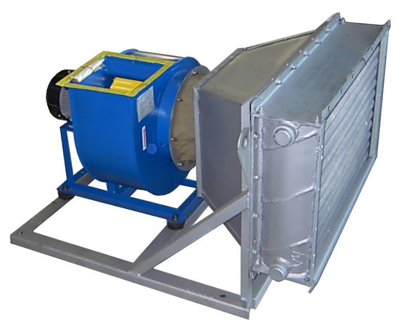 Агрегат вентиляционно-приточный АВП 100/5000 с производительностью  по теплу 97 кВт ±8%с производительностью  по воздуху