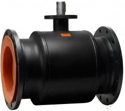 Стальной шаровой кран «Бивал» серии КШТ 11 со стандартным штоком, присоединение фланцевое, DN 400-600