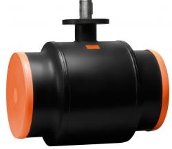 Стальной шаровой кран «Бивал» серии КШТ 11 со стандартным штоком, присоединение сварное, DN 400-600