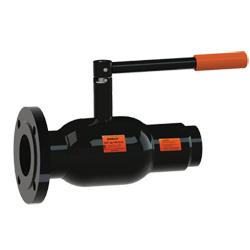 Стальной шаровой кран «Бивал» серии КШТ 14, 15 со стандартным штоком, присоединение комбинированное, ф/с