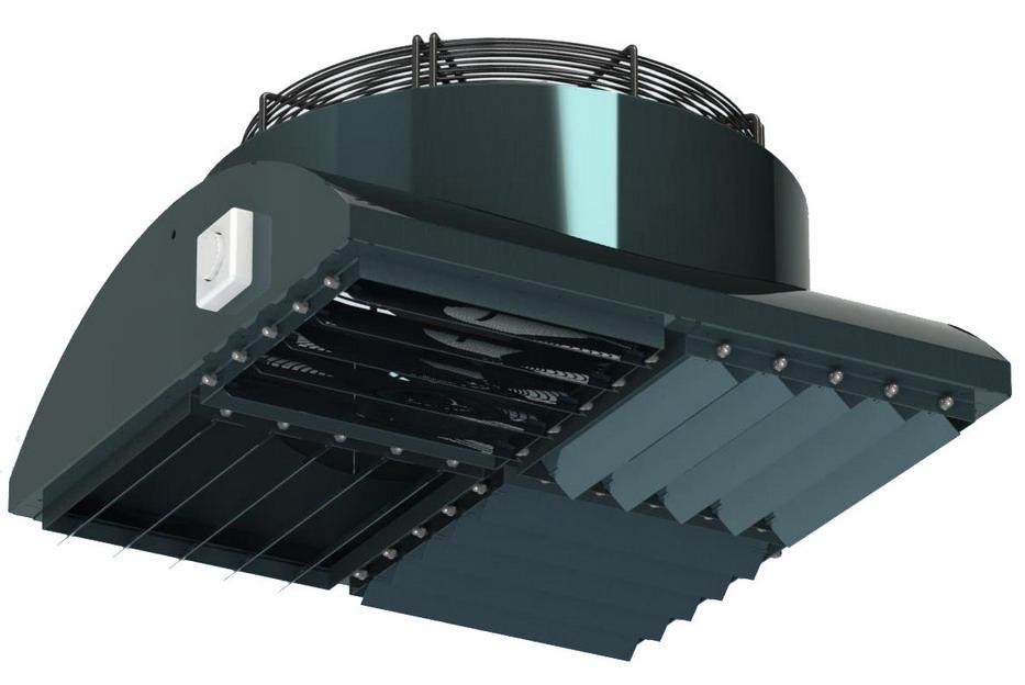 Дестратификатор ДРФ-02 с вентилятором EBMPAPST S4D450-AU01-02