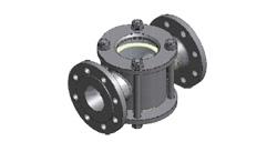 Двусторонее смотровое стекло CC03, 15-200 мм