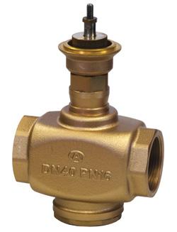 Двухходовой регулирующий клапан «Гранрег» KM124P