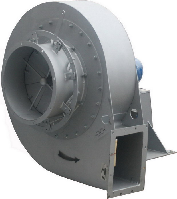 Дымосос ДН-15. Установленная мощность 75 кВт