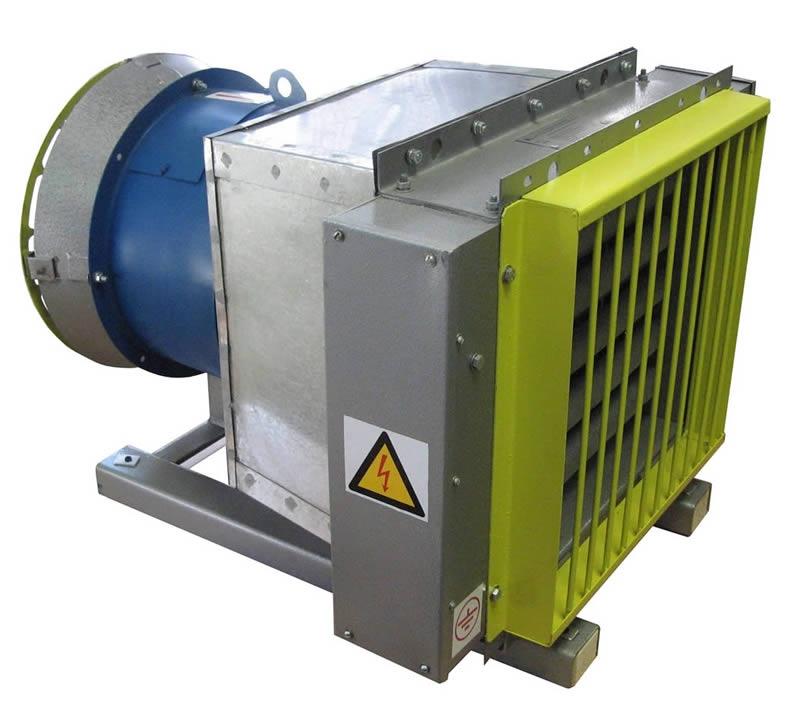 Электрокалориферная установка ЭКУ-12 мощностью 12 кВт