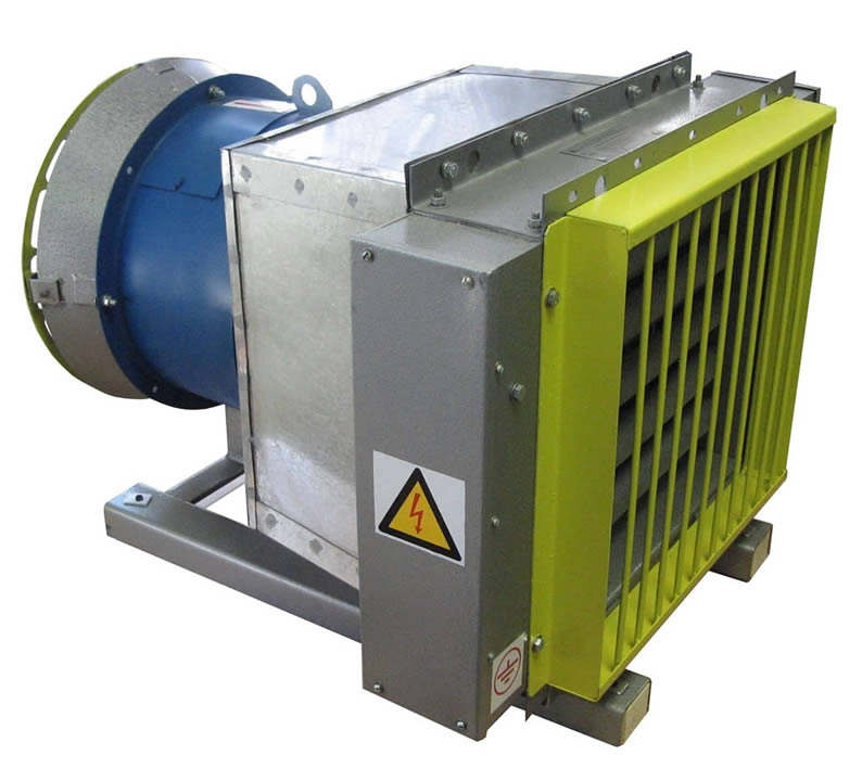 Электрокалориферная установка ЭКУ-25 мощностью 26,25 кВт