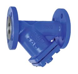 Фильтр сетчатый фланцевый со сливной пробкой IS40 стальной, DN 15-400, PN 4,0 МПа