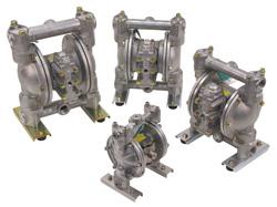Газоприводные мембранные насосы с пневмоприводом (CSA)