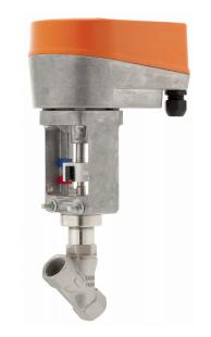 Клапан с электроприводом серия 7210