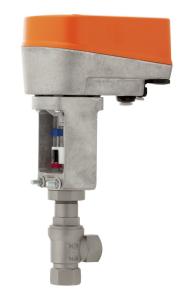Клапан с электроприводом серия 7250