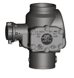 Клапан воздушный модели DDX, Reliable (США)