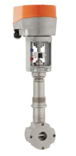 Компактный регулирующий клапан с электроприводом (удлиненная конструкция) серия 8230