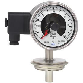 Механические термометры с электроконтактами