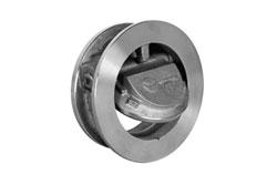 Обратный клапан межфланцевый Orbinox с поворотным диском, серии RM