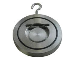 Обратный клапан поворотный межфланцевый «Гранлок» серии ЗОП