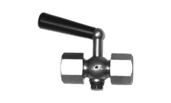 Пробковый кран для манометра MV25-015, 12 DN 15, PN 1,6 МПа