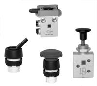 Распределительные клапаны Hafner Pneumatik для панельного монтажа