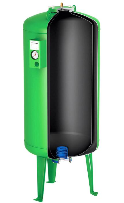 Расширительный бак (гидроаккумулятор) для водоснабжения Airfix D-E-B