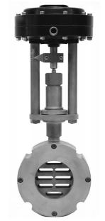 Регулирующий клапан шиберного типа серия 8020