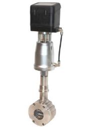 Регулирующий клапан со встроенным позиционером (удлиненная конструкция) серия 8043