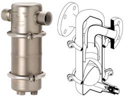 Сепаратор AS2 со встроенным конденсатоотводчиком для пара
