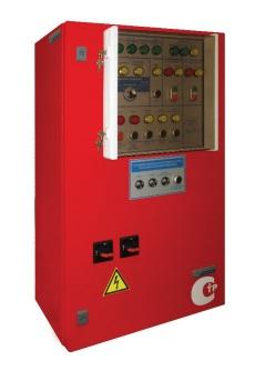Шкафы управления для насосов спринклерной и дренчерной систем пожаротушения