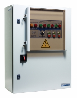 Шкафы управления «Грантор» для канализационных и дренажных систем