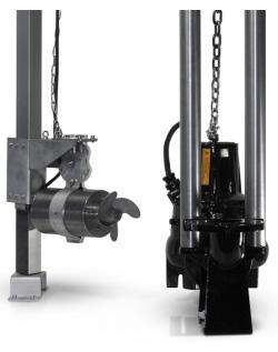 Система автоматического перемешивания для КНС