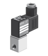 Соленоидные (электромагнитные) клапаны нормально закрытые,  серия 256