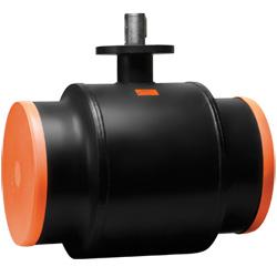 Стальной шаровой кран «Бивал» серии КШТ 11, 12 со стандартным штоком, присоединение сварное, с/с