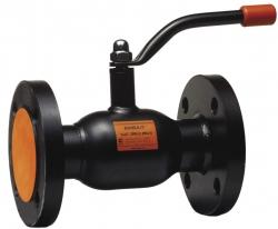 Стальной шаровой кран «Бивал» серии КШТ 11, 12 со стандартным штоком, присоединение фланцевое, ф/ф - DN 15 - 50