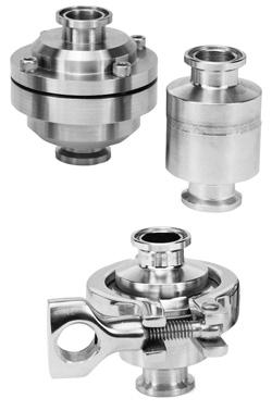 Термостатический конденсатоотводчик для чистого пара серии TC