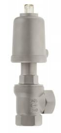 Угловой клапан из нержавеющей стали серия 7050
