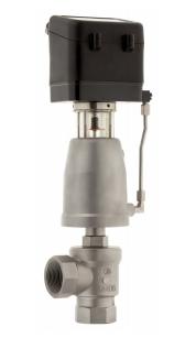 Угловой регулирующий клапан серия 7051