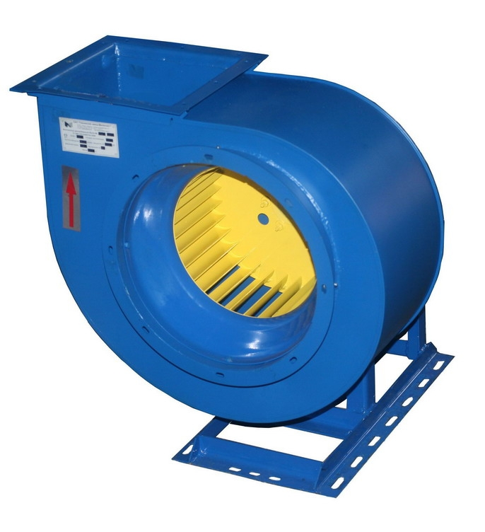 Вентилятор центробежный ВЦ14-46-2; ВЦ14-46-2К1 С типоразмером двигателя АИР56В4, 0,7-0,98 10м/ч