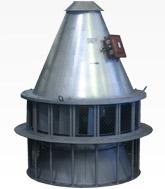 Вентилятор крышной дымоудаления ВКРМ-12,5Ду. C типоразмером двигателя АИР160M16