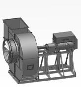 Вентилятор дутьевый ВДН-20 мощностью 400 кВт