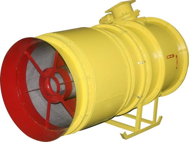 Вентилятор шахтный местного проветривания ВМЭ-12А. Номинальным диаметром 1200 мм