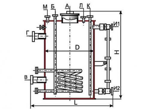 Вертикальные цельносварные аппараты с плоскими днищами