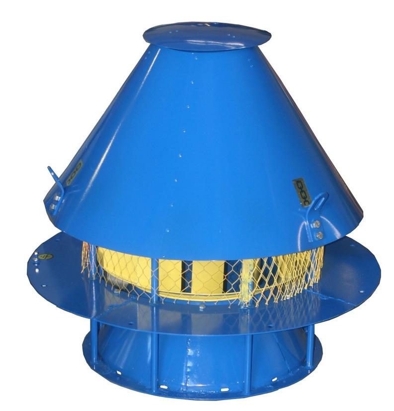 Вентилятор крышной радиальный ВКР-4; ВКР-4К1 с типоразмером двигателя АИР71В6