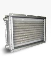 Воздухонагреватель типа ВНВ - ВНП 113-408. Производительность по теплу 85,69/98,54 кВт