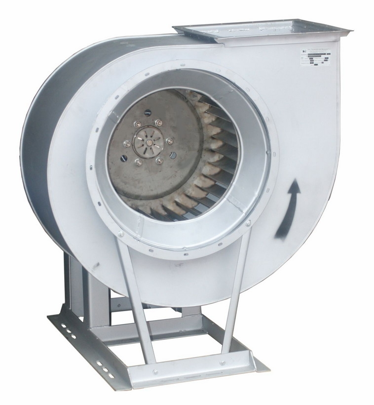 Вентилятор радиальный для дымоудаления ВР 280-46-5ДУ-01; ВР 280-46-5ДУ-02 с электродвигателем АИР132S6