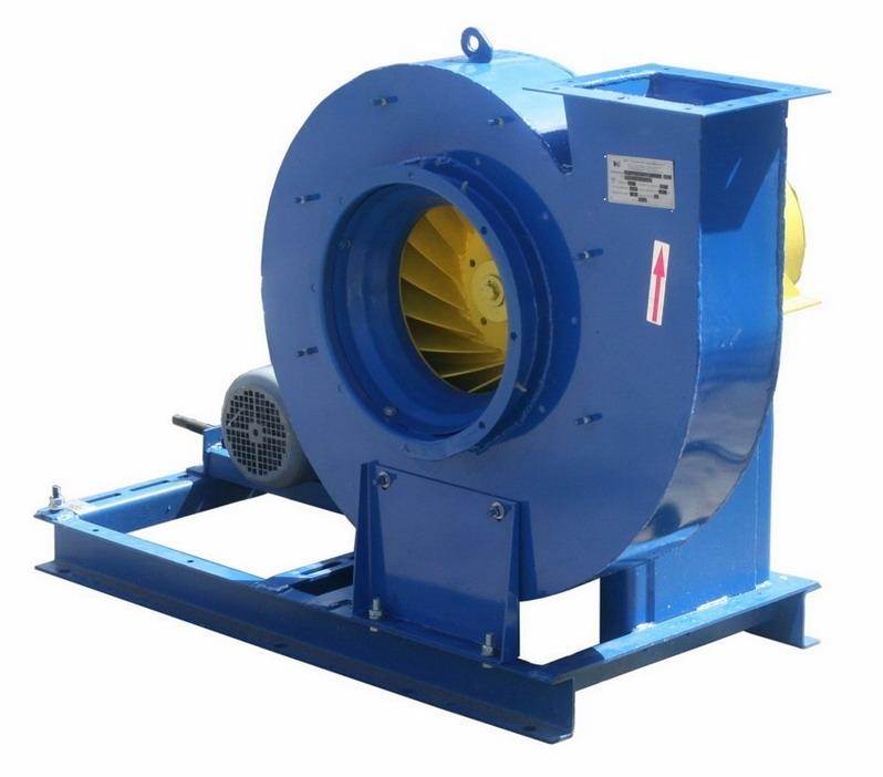 Вентилятор высокого давления ВР132-30-8-0,5 с электродвигателем АИР132M4