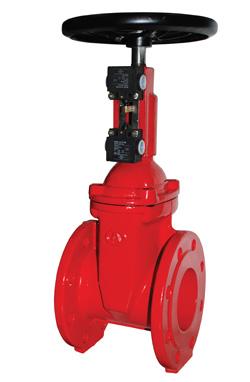 Задвижки клиновые «Гранар» KR14 для систем пожаротушения